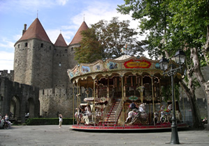 photo no. 32 Carcassonne and carousel